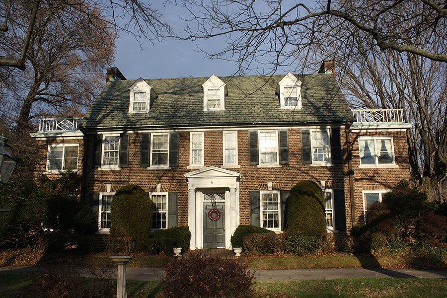 Das Haus der Familie Kelly in Philadelphia