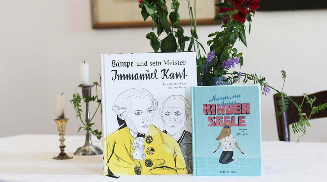 Buch-Tipp: Kant und Hesse als Comic