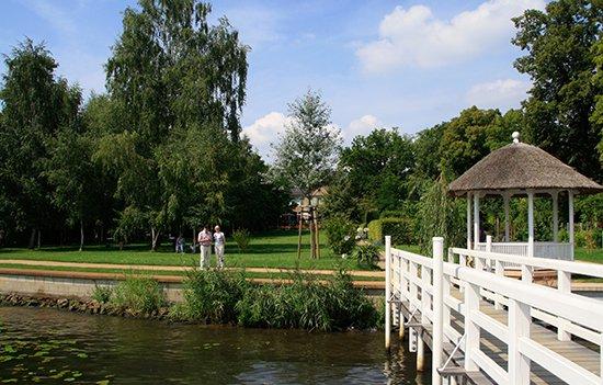 Der Garten der Liebermann-Villa