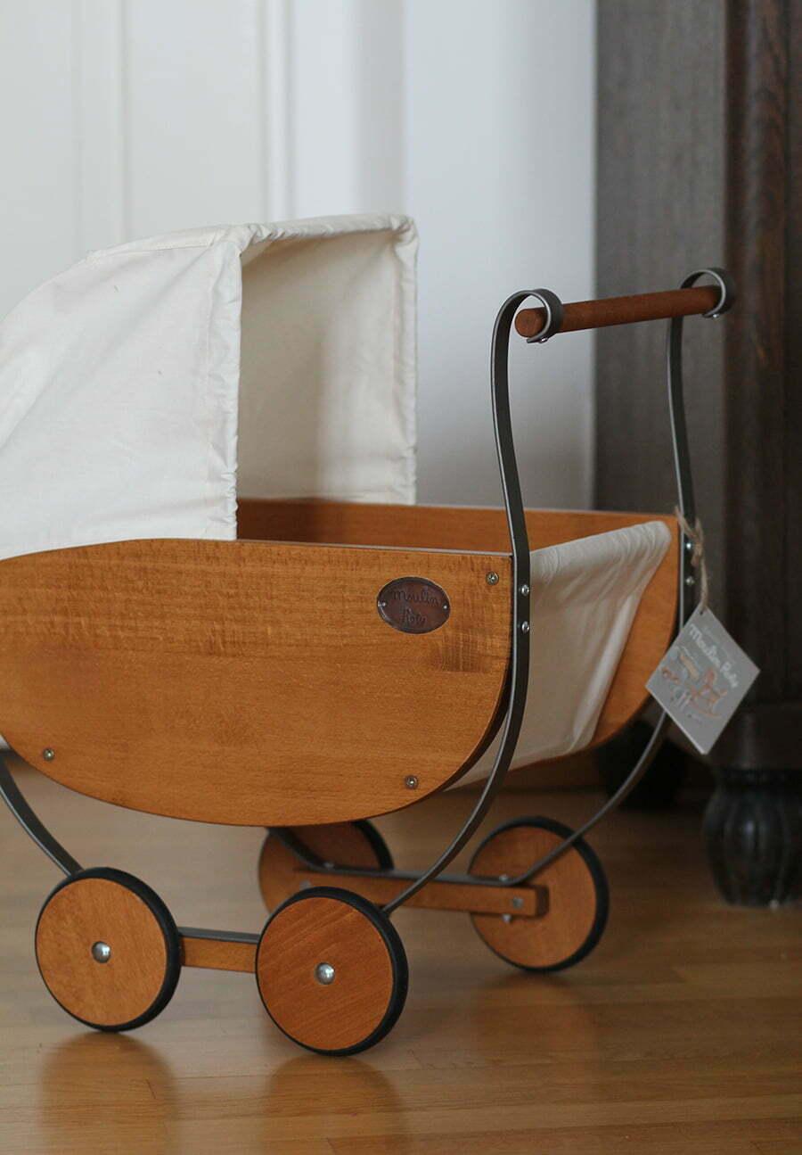 Unser wunderschöner Puppenwagen von Moulin Roty