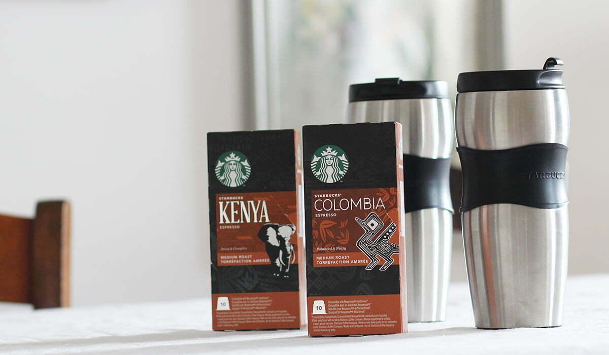 Gewinnspiel: Wir verlosen zwei Starbucks-Sets!
