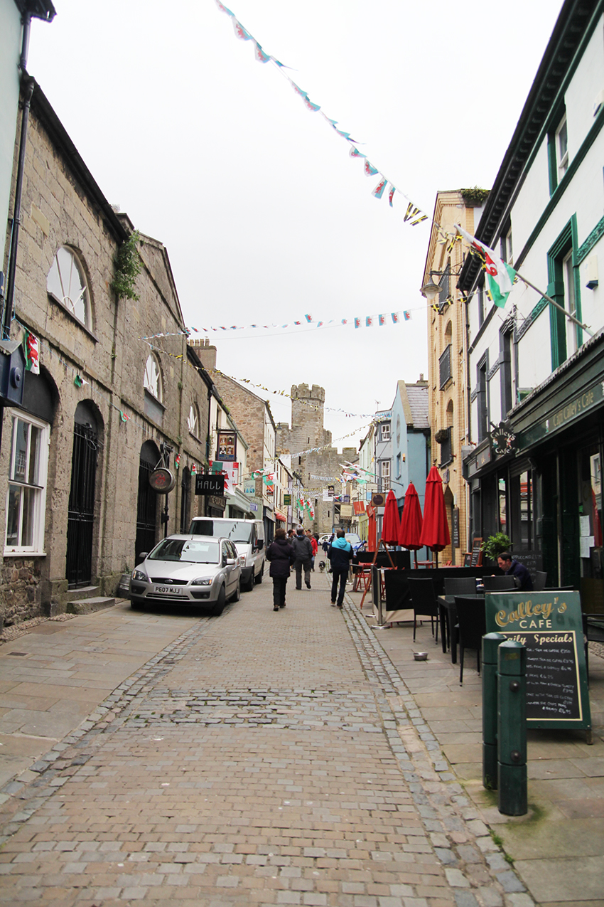 Caernarfon-Tipps: Shopping und Tea Time in der Palace Street