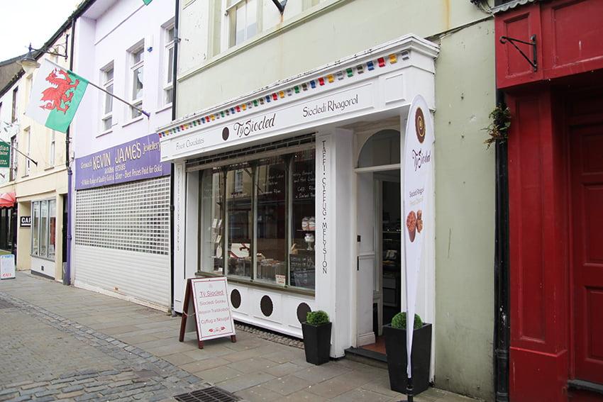 Caernarfon Tipps: Schokoladenladen Tŷ Siocled