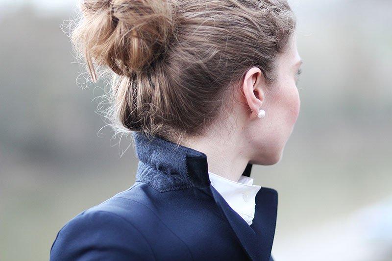 Die Basisgarderobe der Lady: Klassischer dunkelblauer Blazer