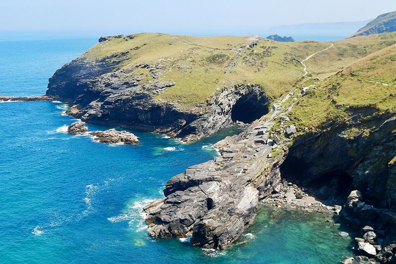 Cornwall-Tipps: Tintagle Castle