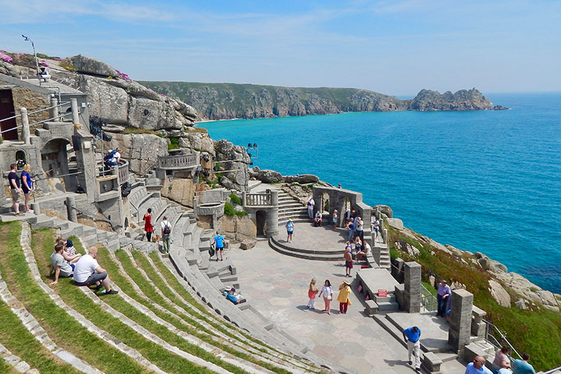 Cornwall-Tipps: Minack Theatre