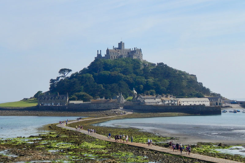 Cornwall-Tipps: St. Michael's Mount