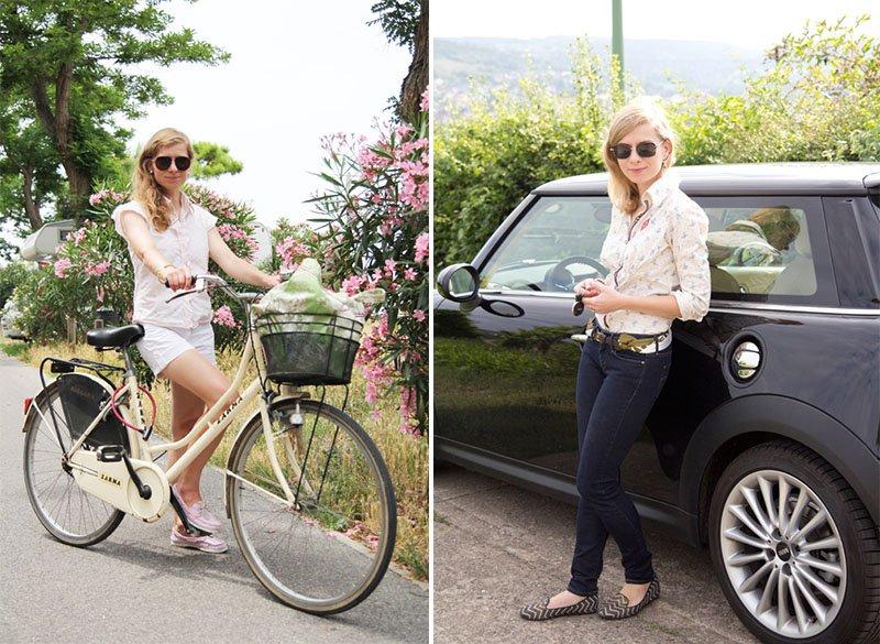 Die Basisgarderobe der Lady: Shorts und Röhrenjeans