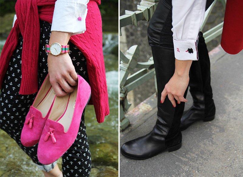 Die Basisgarderobe der Lady: Tassel-Loafer und Reiterstiefel