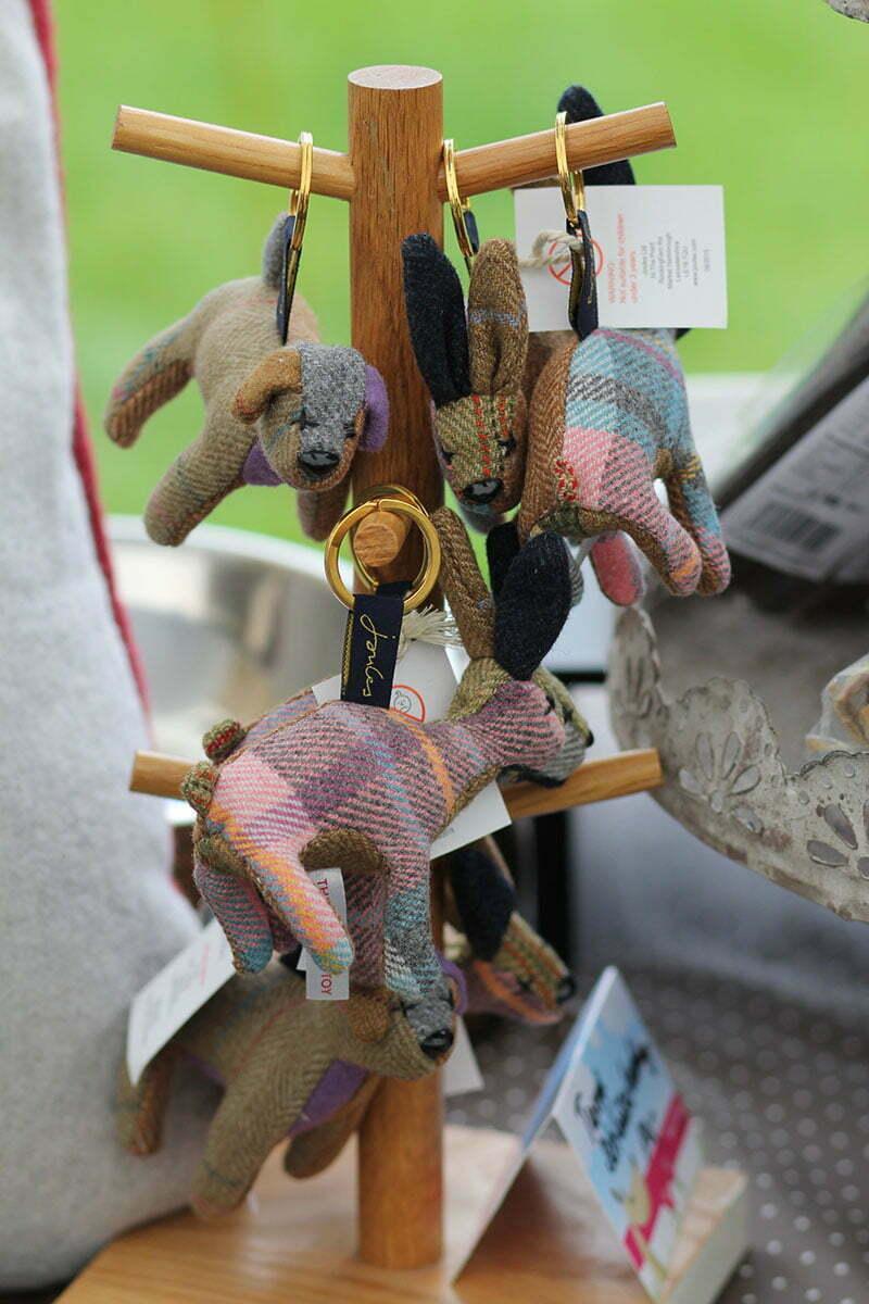 Schlüsselanhänger aus Tweed von Joules