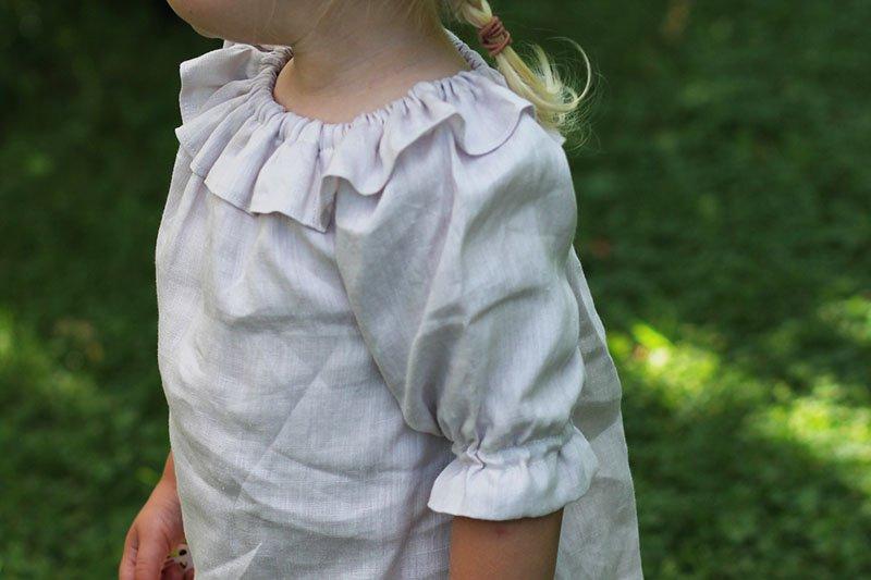 Leinenkleid von Lenita Kidsfashion