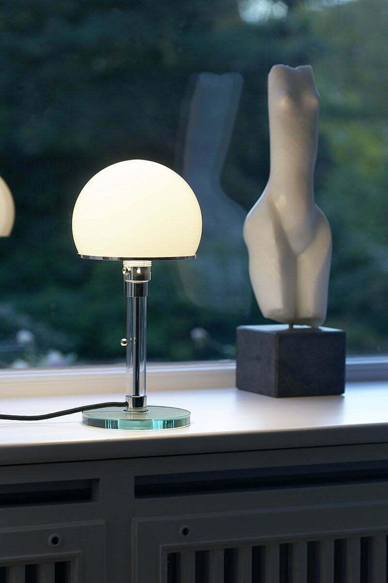 Design-Klassiker: Wilhelm Wagenfeld Leuchte
