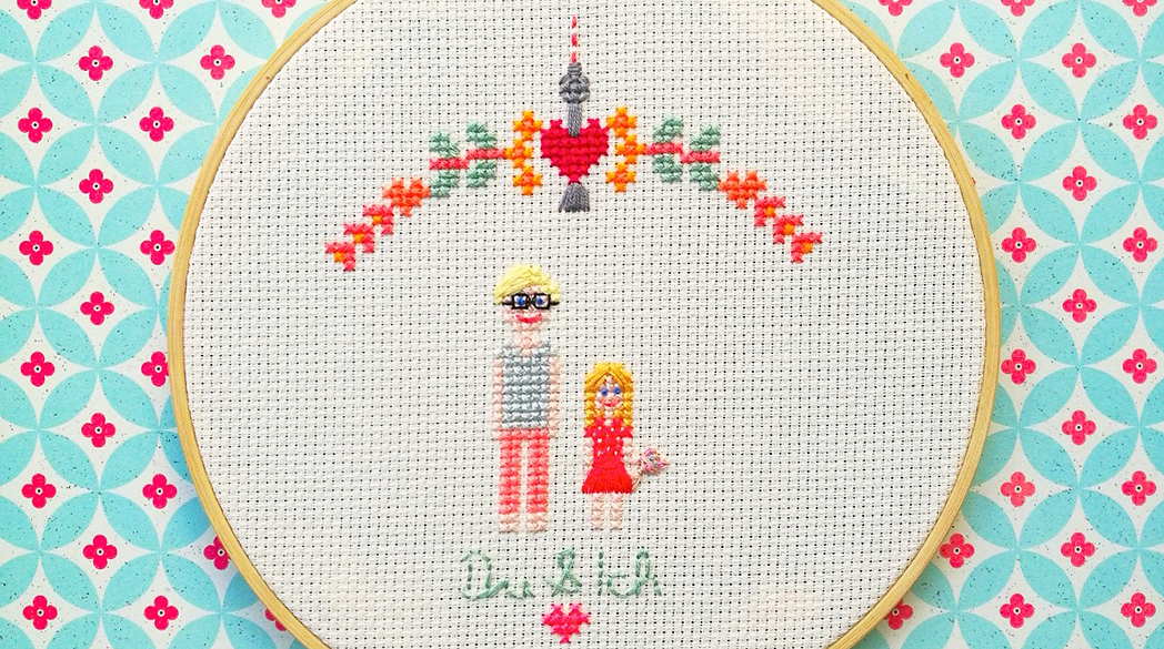Lady-Tipps: Stickrahmen, Stilstück & Queen-Film
