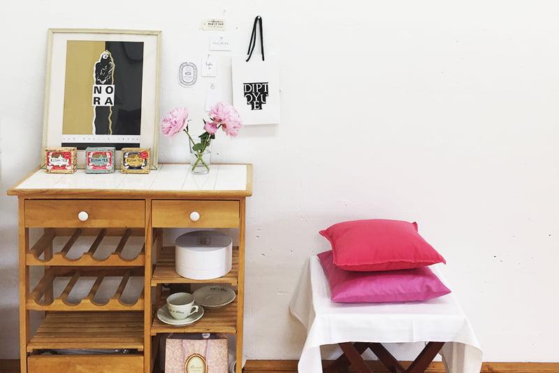 Das Atelier von Stefanie von Wietersheim