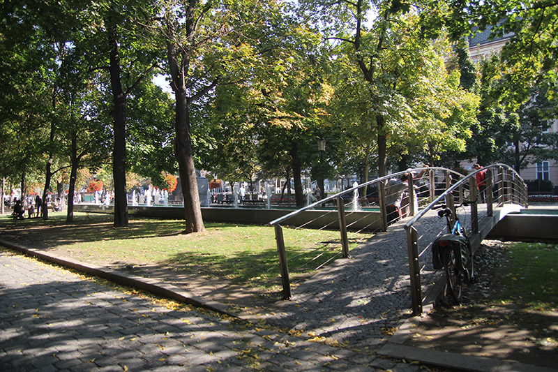 Bratislava-Tipps: Flanieren auf der Hviezdoslavovo námestie