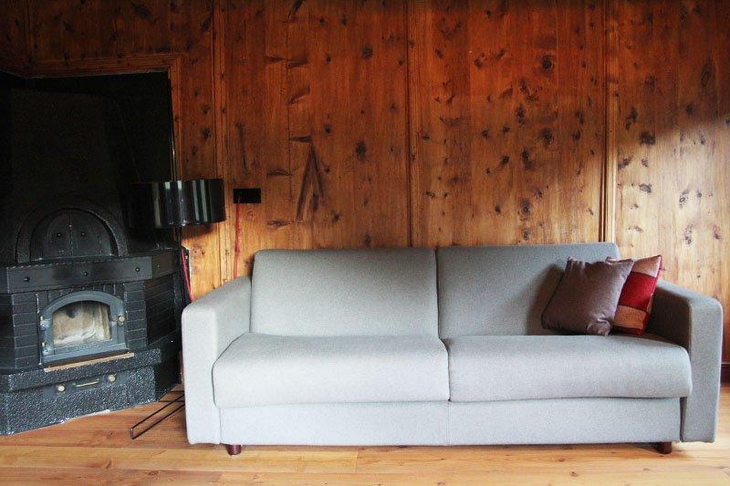 Alpin-Lodge Josephus im Schnalstal mit Lärchen und Zirbenholz