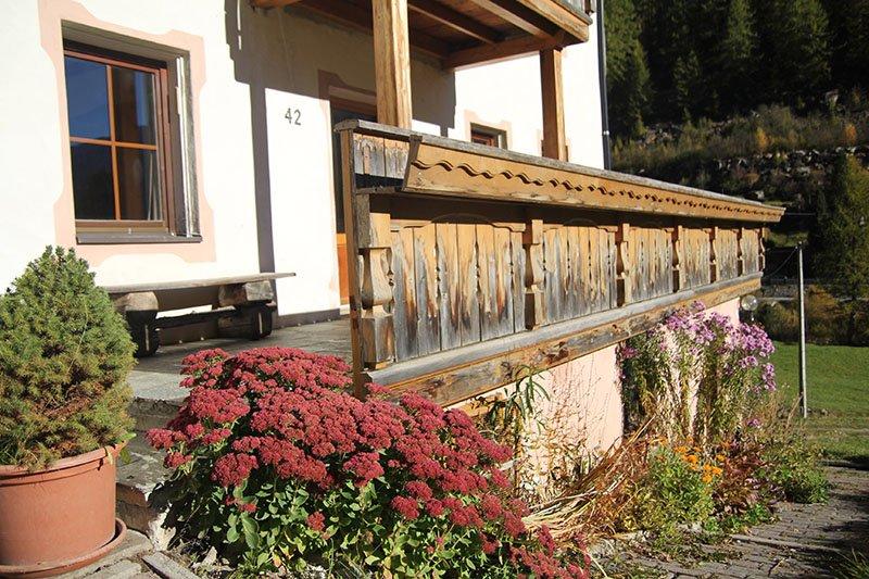 Die luxuriöse alpine Lodge Josephus besteht aus vier Apartments