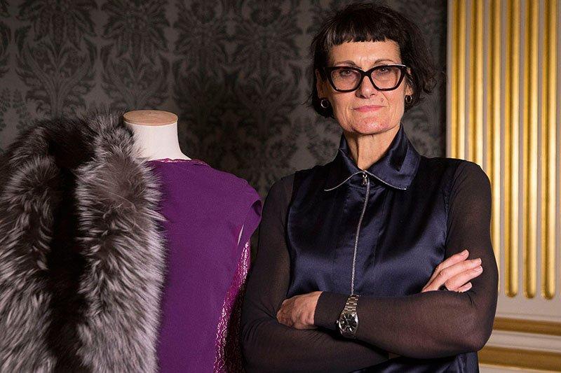 die oscarprämierte Kostümdesignerin Alexandra Byrne