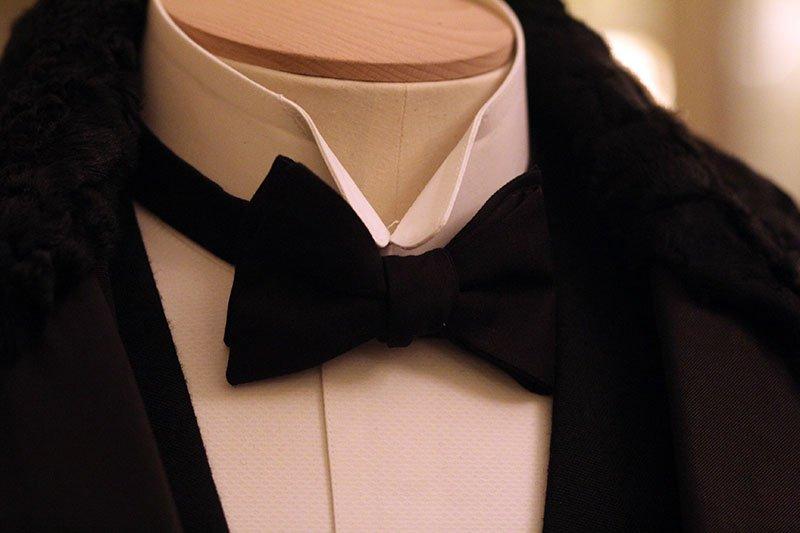 """Kostüm von Hercule Poirot in """"Mord im Orientexpress"""""""