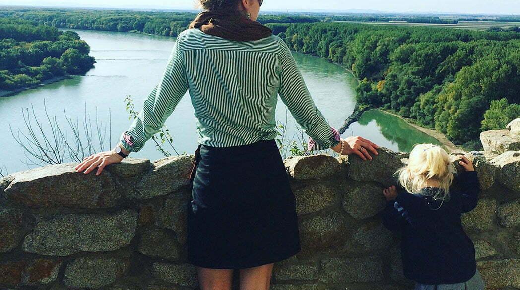Auf Reisen: Ein Ausflug zur Burg Theben/Devín