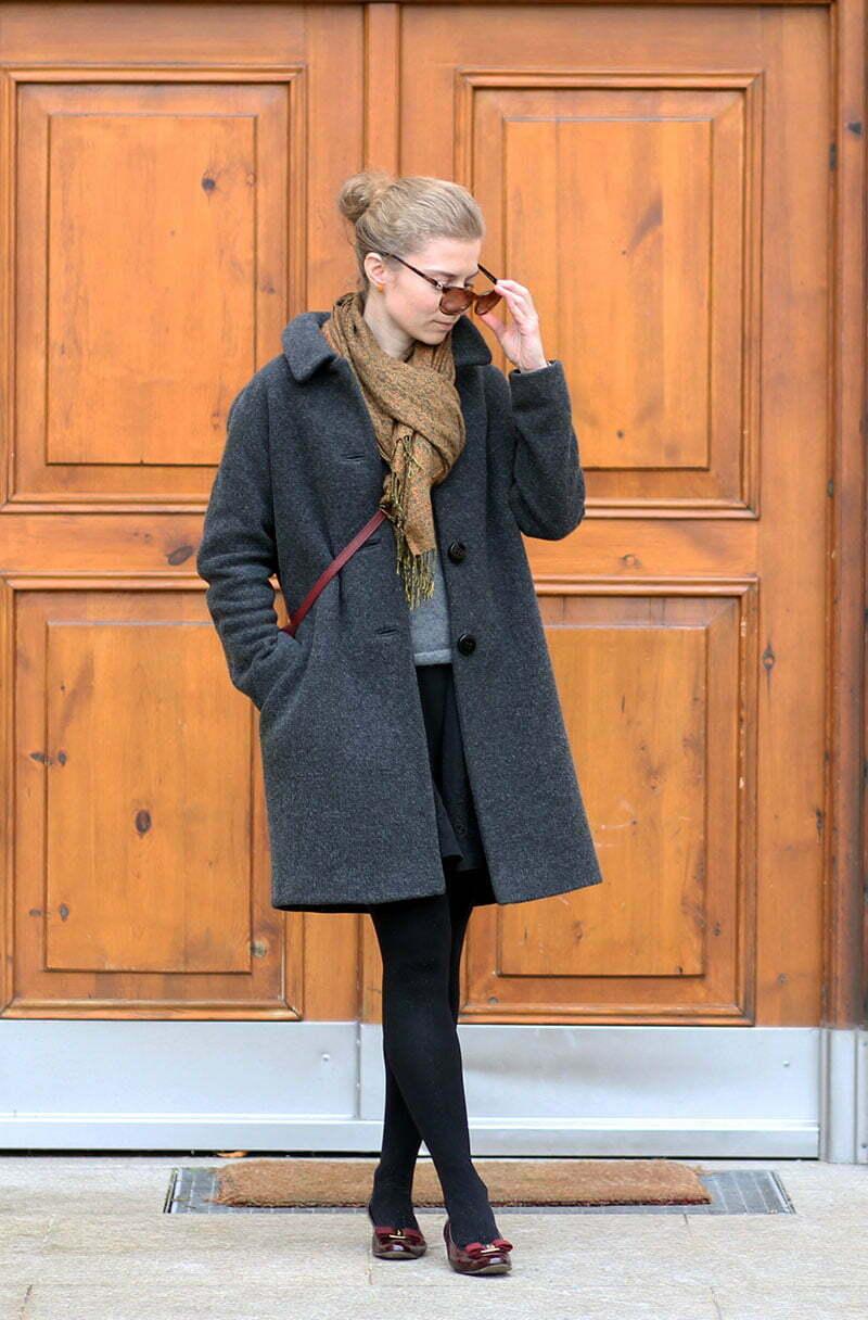 Outfitpost Lady-Blog: Wollmantel von Boden