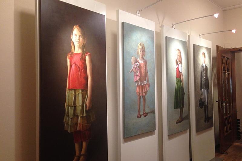 Geschenkerl-Cocktail Gut Thailing: Kinderportraits von Christine Herr-Tropp