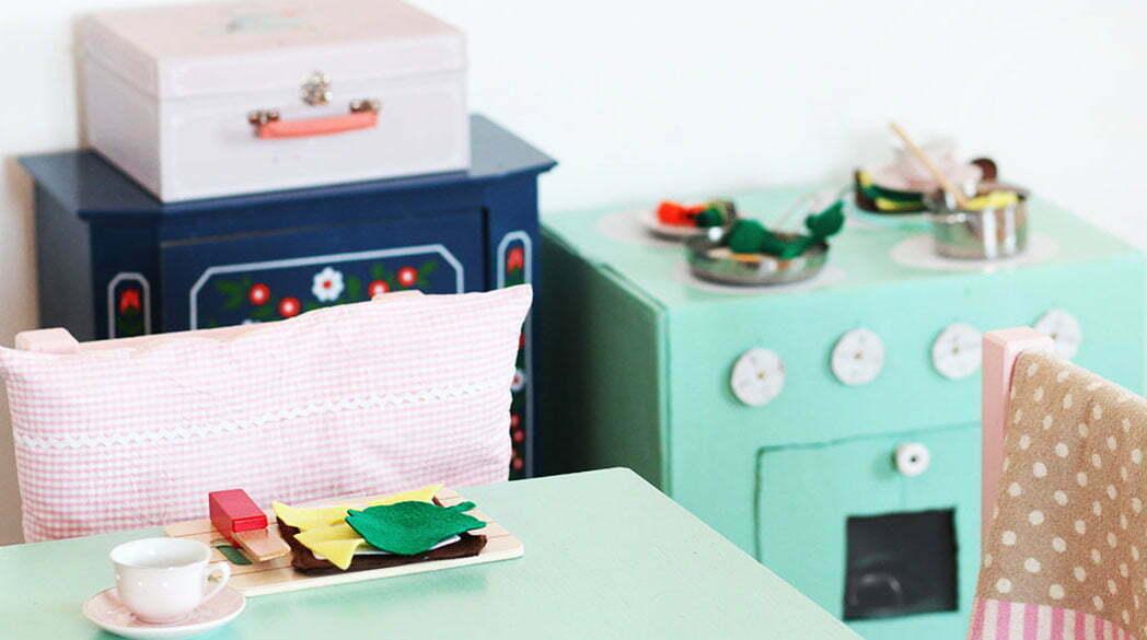 Adventskalender-DIY: Playfood für Amalias Küche