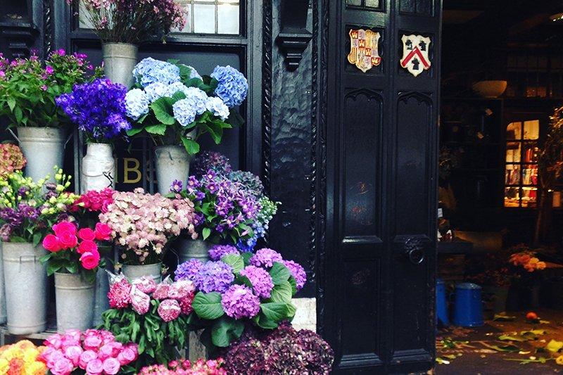 Liberty London: Der hauseigene Blumenladen ist ein Traum