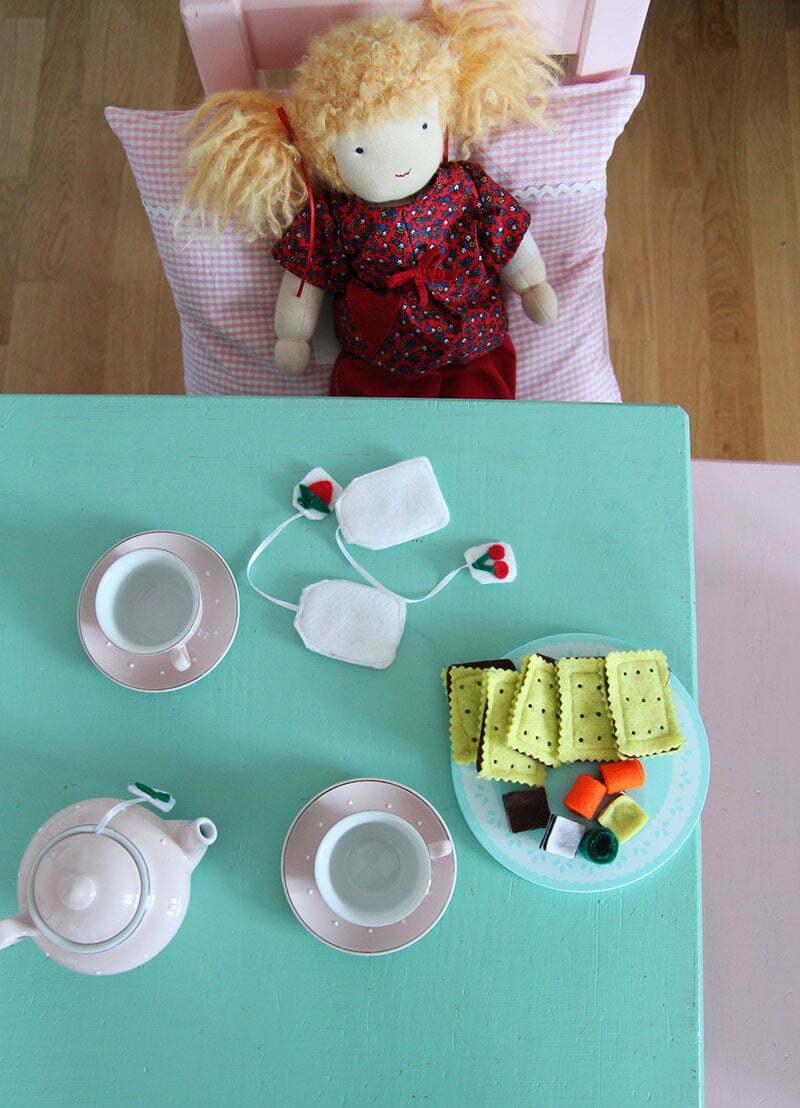Süßigkeiten für die Kinderküche selbermachen