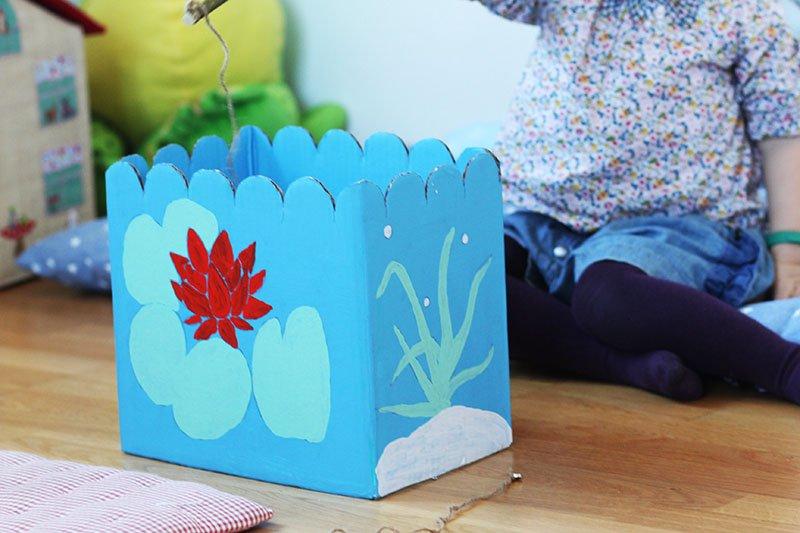 DIY-Ideen für Regen-Nachmittage: Angelspiel