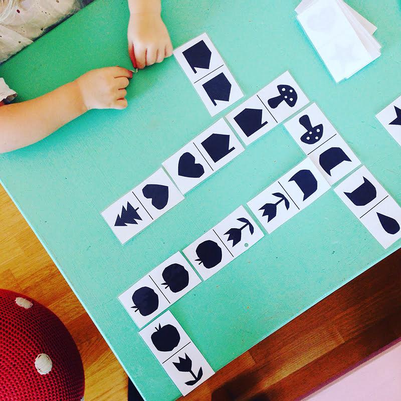 DIY-Ideen für Regen-Nachmittage: Domino