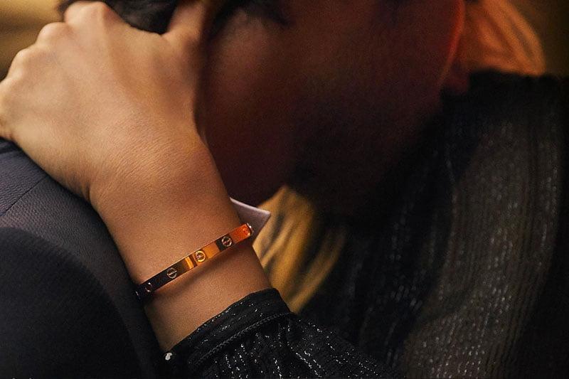 """""""Love Bracelet"""" von Cartier"""