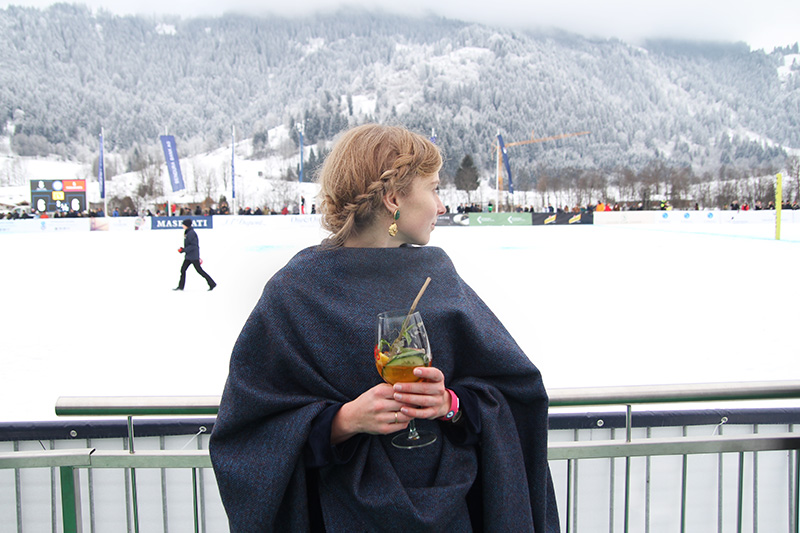 Mein Outfit beim Snow-Polo Worldcup Kitzbühel