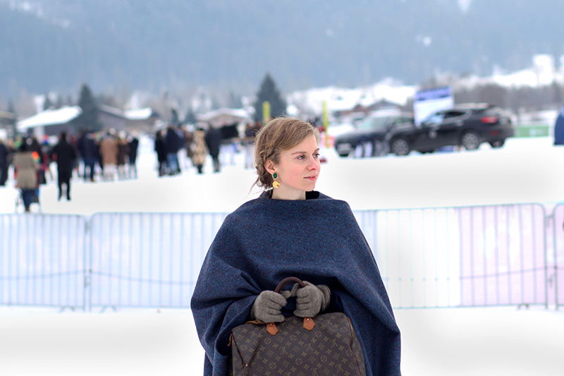 Mein Outfit beim Snow Polo Worldcup Kitzbühel