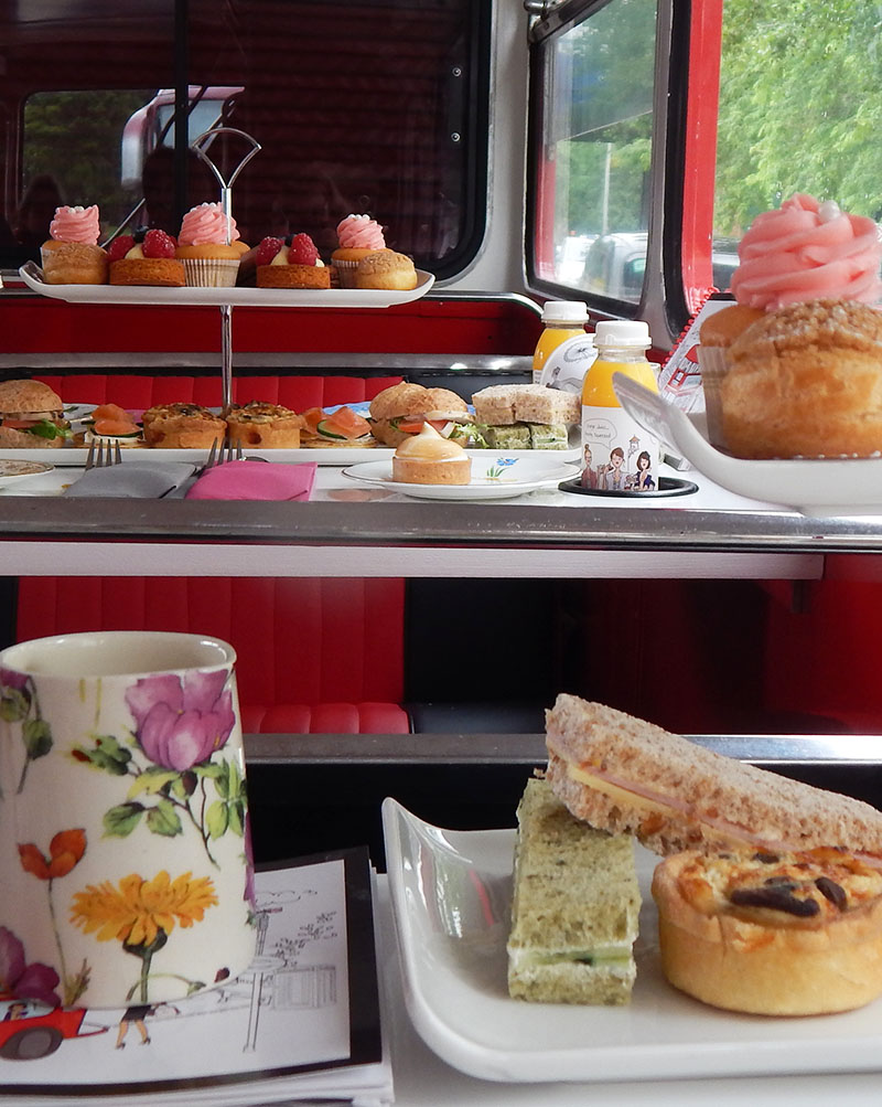 Tea-Time Bustour durch London