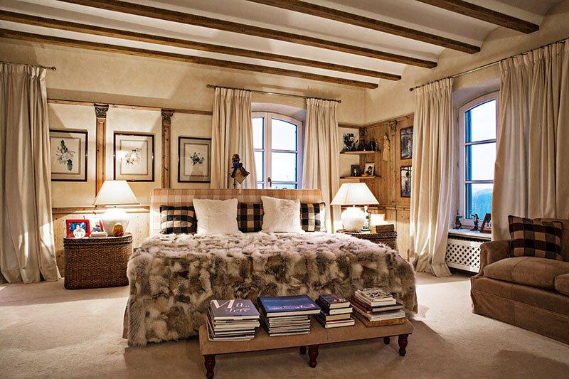 Gut Daxau: Das Schlafzimmer von Susanne Michalke