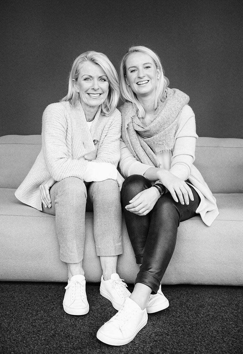 Kaell-Gründerinnen Ellen und Katharina Schwendt