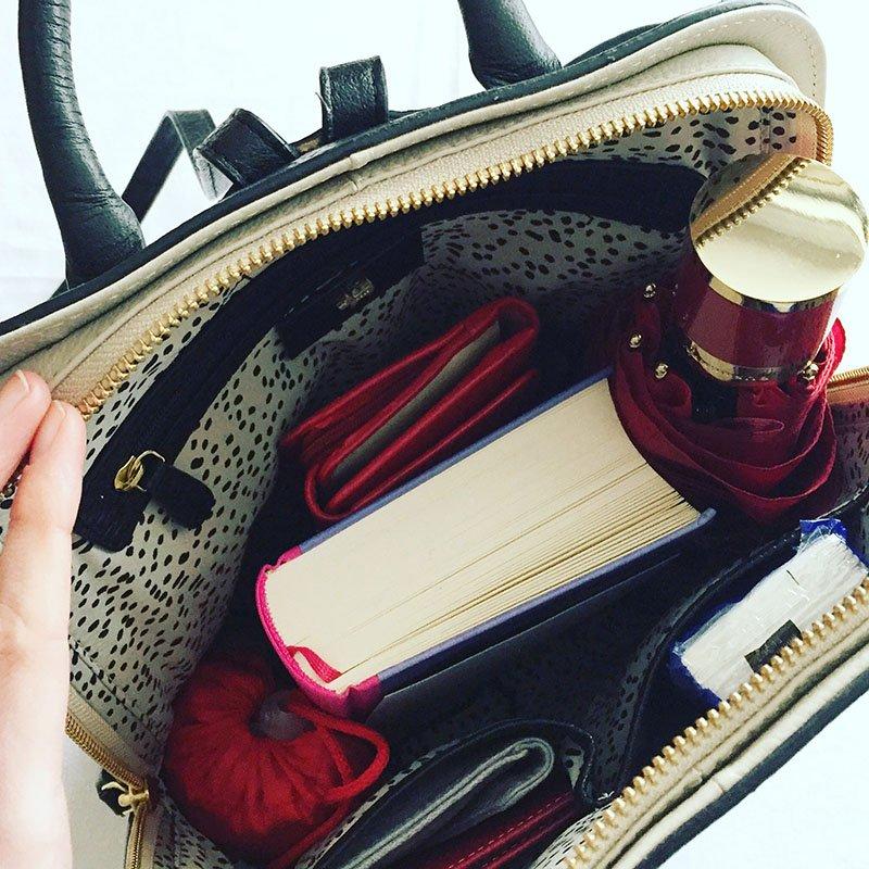das Innenleben meines Rucksacks von Radley London