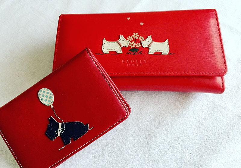 mein Geldbeutel und Kartenhalter von Radley London