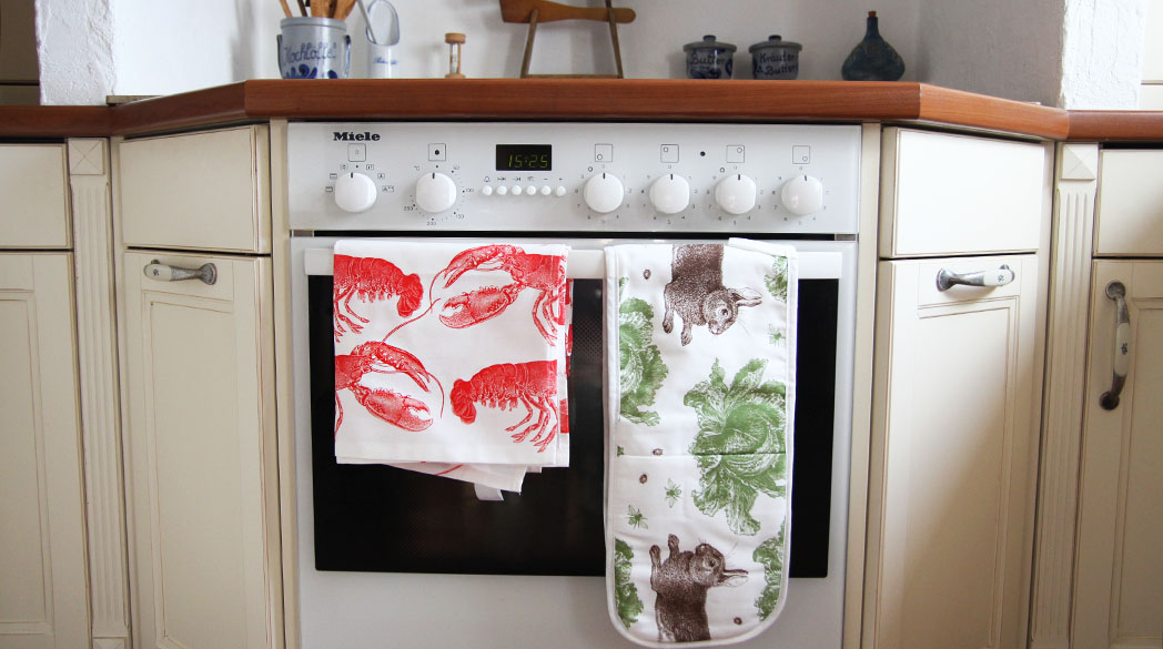 Textilien von Thornback & Peel
