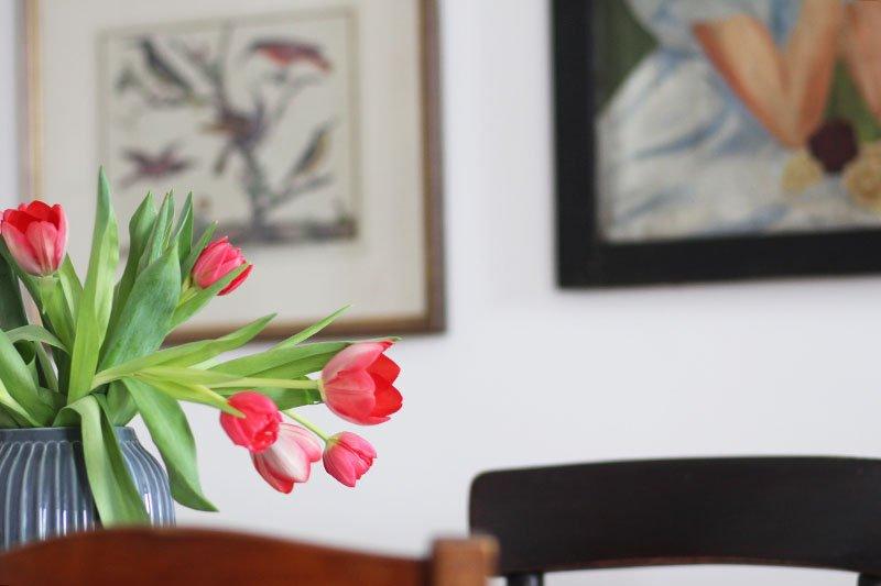 Vase von Kähler aus der Hammershoi-Serie