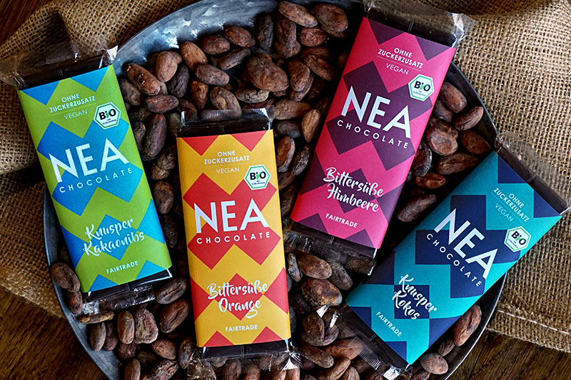 Nea Chocolate: Schokolade ohne Zucker