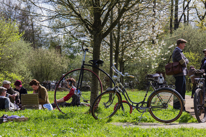 Tweed Run in Gütersloh