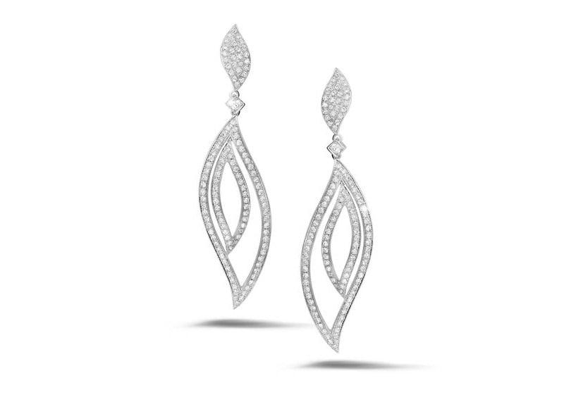 Diamanten-Ohrringe von BAUNAT