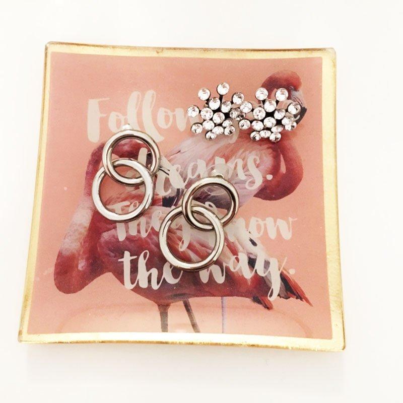 Ohrring-Knigge: Silberne Ohrringe von Konplott