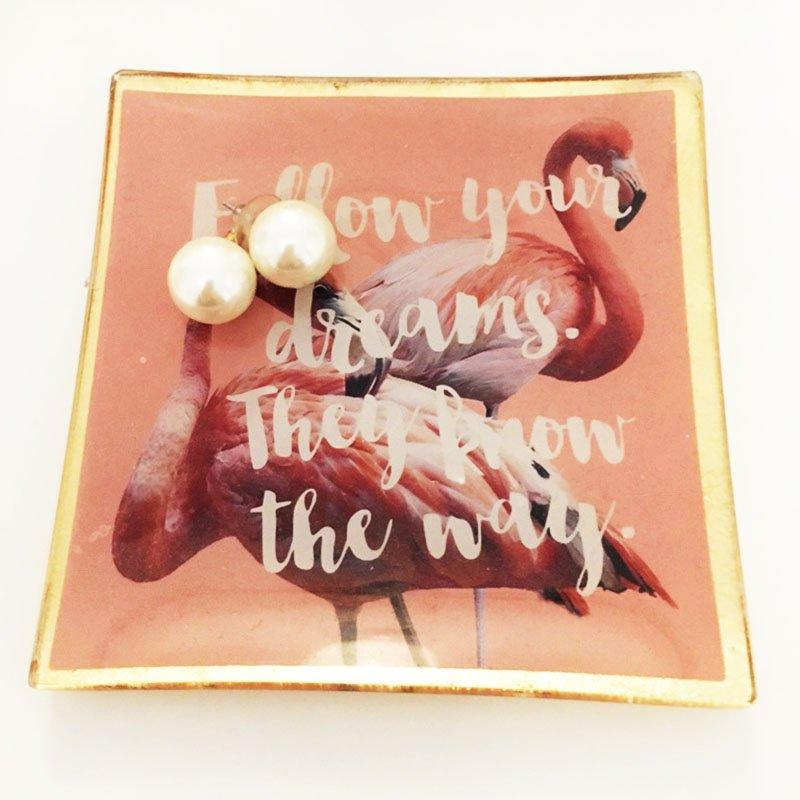 Ohrring-Knigge: Perlenohrringe