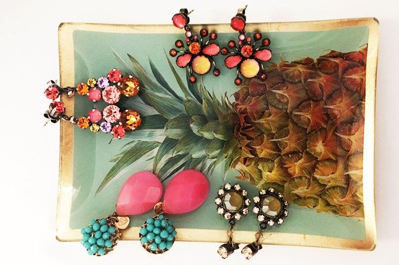 Ohrring-Knigge: Farbenfrohe Ohrringe von Konplott