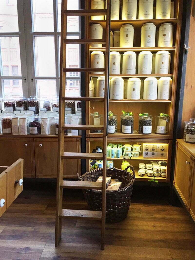 Der Teekontor im Wasserschloss