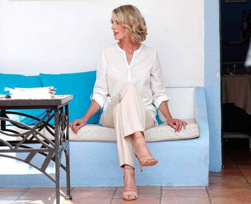 Atelier Goldner Schnitt: Tunika für kräftige Ladys