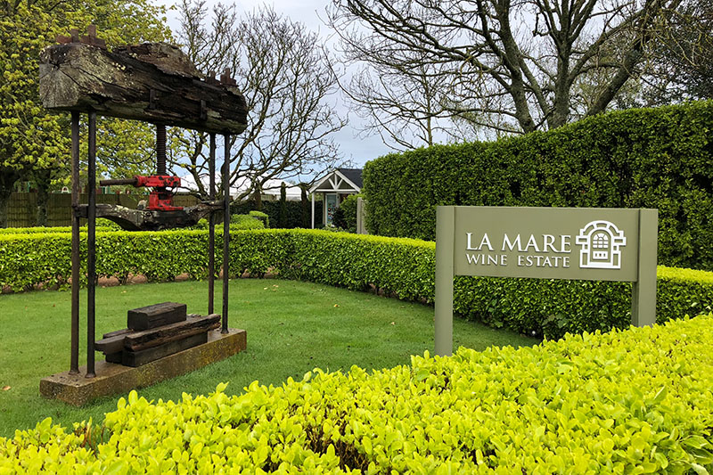 Jersey-Tipps: La Mare Wine Estate